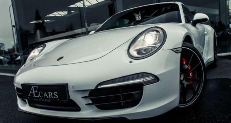 Porsche 911 4S - MANUAL GEARBOX - SPORT EXHAUST Blanc occasion à IZEGEM
