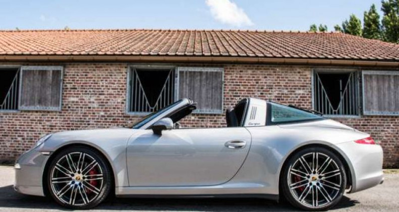 Porsche 911 4S - SPORT-PACK - PDK - ONLY 32.000 KM Gris occasion à IZEGEM - photo n°5