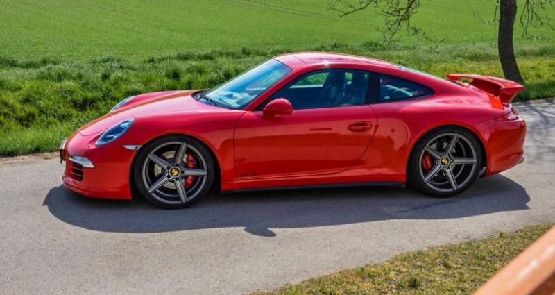 Porsche 911 4S X51 / GTS / 3.8l Flat 6 / Aerokit Rouge occasion à Paris - photo n°3