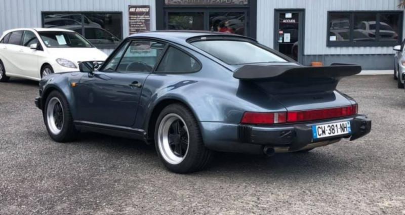 Porsche 911 930 Turbo Bleu occasion à Vire - photo n°4