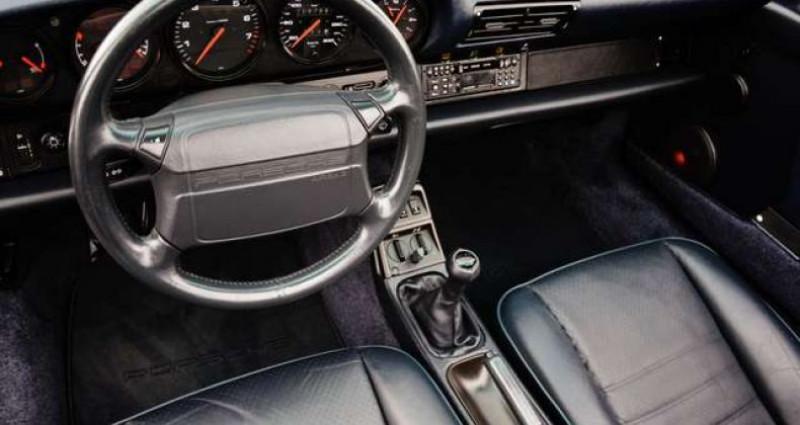 Porsche 911 964 CARRERA 4 CABRIOLET FULL HISTORY - - Blanc occasion à IZEGEM - photo n°7