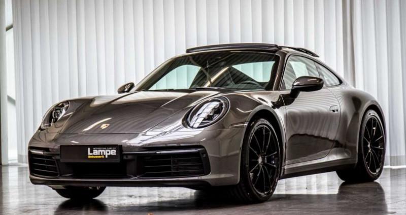 Porsche 911 992.1 Carrera Coupé Sportuitlaat Panodak Chrono Gris occasion à Hooglede - Gits - photo n°3