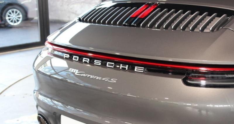 Porsche 911 992 Carrera 4S Cabriolet Gris occasion à Le Port Marly - photo n°5