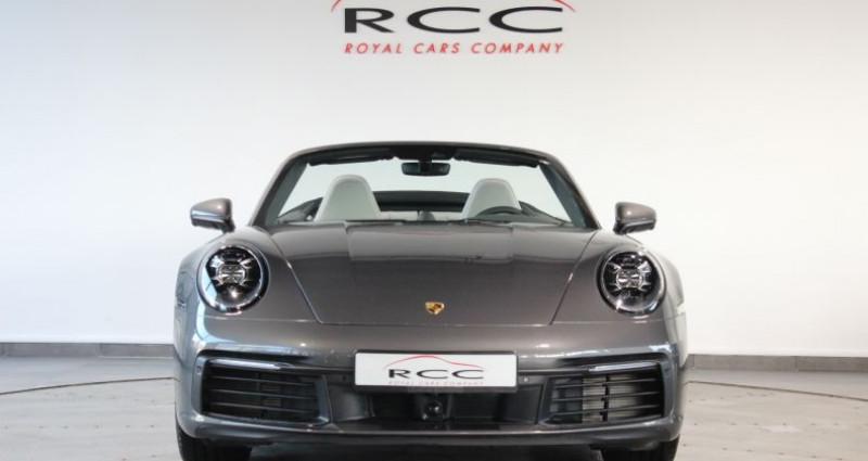 Porsche 911 992 Carrera 4S Cabriolet Gris occasion à Le Port Marly - photo n°2