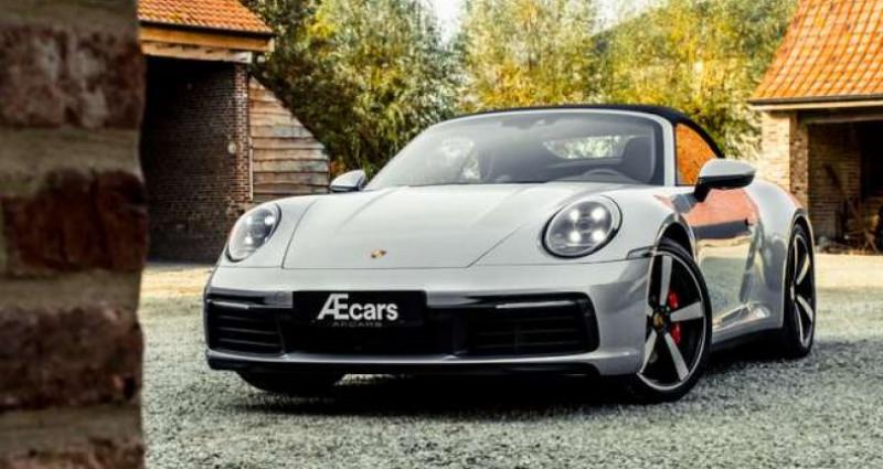 Porsche 911 992 CARRERA S CABRIO - LED MATRIX - BOSE Gris occasion à IZEGEM - photo n°6