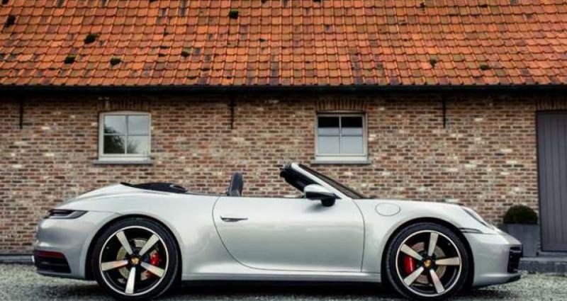 Porsche 911 992 CARRERA S CABRIO - LED MATRIX - BOSE Gris occasion à IZEGEM - photo n°2