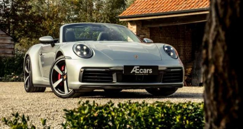 Porsche 911 992 CARRERA S CABRIO - LED MATRIX - BOSE Gris occasion à IZEGEM - photo n°3