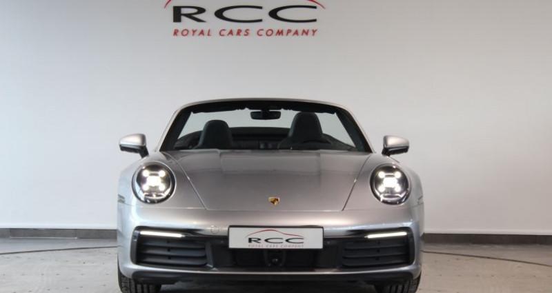 Porsche 911 992 Carrera S Cabriolet Gris occasion à Le Port Marly - photo n°2