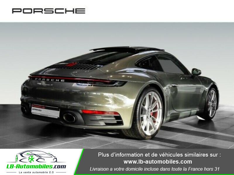 Porsche 911 992 Carrera S Coupé 3.0i 450 PDK Vert occasion à Beaupuy - photo n°3