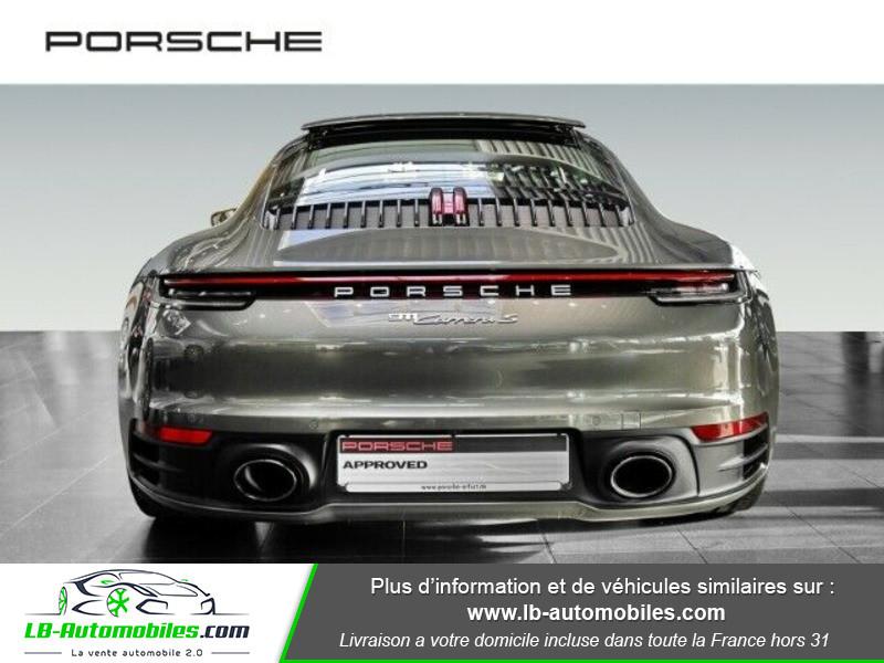 Porsche 911 992 Carrera S Coupé 3.0i 450 PDK Vert occasion à Beaupuy - photo n°12