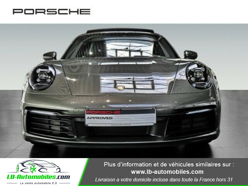 Porsche 911 992 Carrera S Coupé 3.0i 450 PDK Vert occasion à Beaupuy - photo n°11