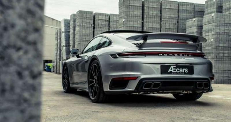 Porsche 911 992 TURBO S - CERAMIC BREAKS - PANO OPEN ROOF Gris occasion à IZEGEM