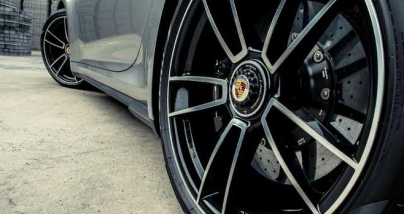 Porsche 911 992 TURBO S - CERAMIC BREAKS - PANO OPEN ROOF Gris occasion à IZEGEM - photo n°7