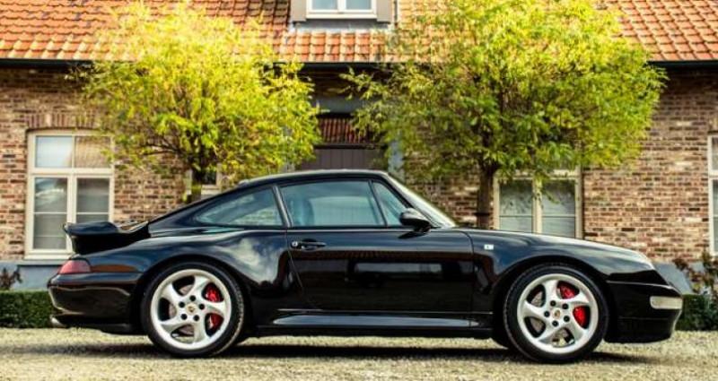 Porsche 911 993 CARRERA 4S MANUAL - AEROKIT - OPEN ROOF Noir occasion à IZEGEM - photo n°3