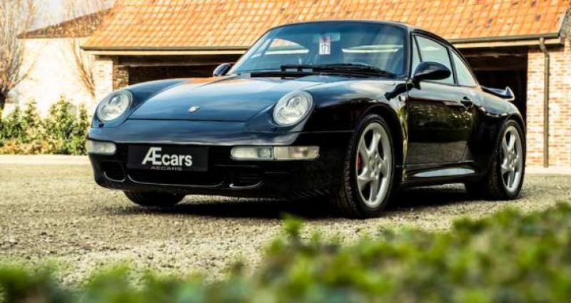 Porsche 911 993 CARRERA 4S MANUAL - AEROKIT - OPEN ROOF Noir occasion à IZEGEM - photo n°4