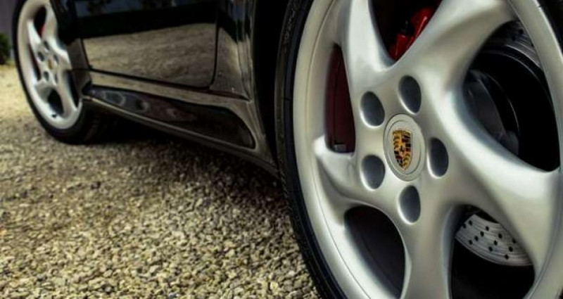 Porsche 911 993 CARRERA 4S MANUAL - AEROKIT - OPEN ROOF Noir occasion à IZEGEM - photo n°7