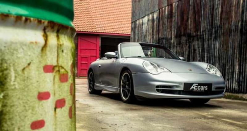 Porsche 911 996 CABRIOLET - MANUAL - AERO KIT - HARDTOP Gris occasion à IZEGEM - photo n°2