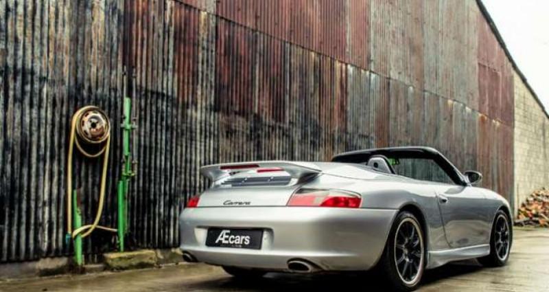 Porsche 911 996 CABRIOLET - MANUAL - AERO KIT - HARDTOP Gris occasion à IZEGEM