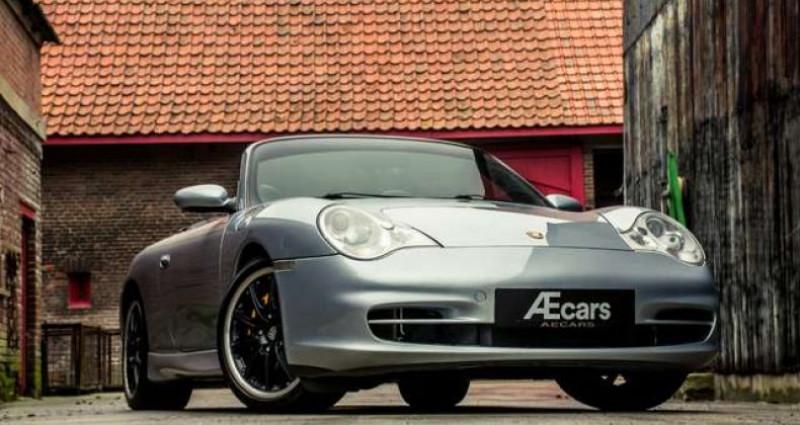 Porsche 911 996 CABRIOLET - MANUAL - AERO KIT - HARDTOP Gris occasion à IZEGEM - photo n°4