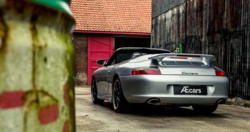 Porsche 911 996 CABRIOLET - MANUAL - AERO KIT - HARDTOP Gris occasion à IZEGEM - photo n°3