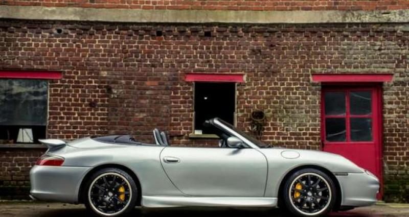 Porsche 911 996 CABRIOLET - MANUAL - AERO KIT - HARDTOP Gris occasion à IZEGEM - photo n°6