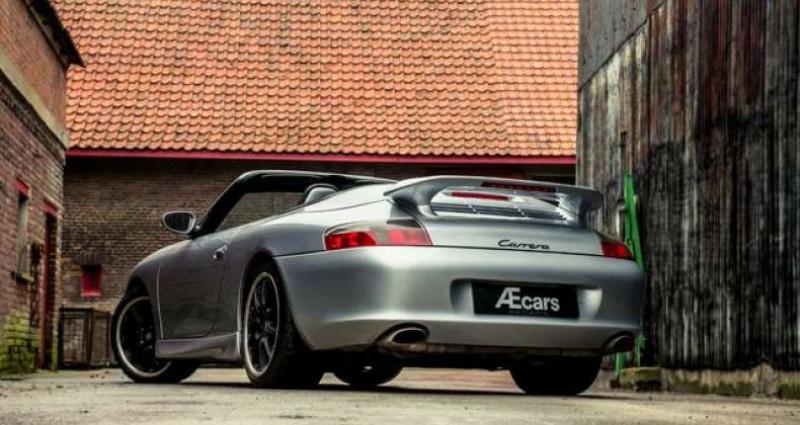 Porsche 911 996 CABRIOLET - MANUAL - AERO KIT - HARDTOP Gris occasion à IZEGEM - photo n°5
