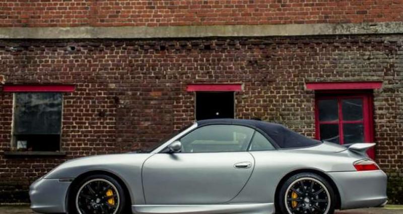 Porsche 911 996 CABRIOLET - MANUAL - AERO KIT - HARDTOP Gris occasion à IZEGEM - photo n°7
