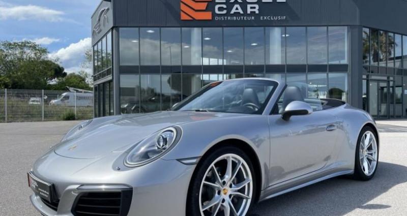 Porsche 911 CABRIOLET 3.0 370CH CARRERA 4 PDK Argent occasion à RIVESALTES