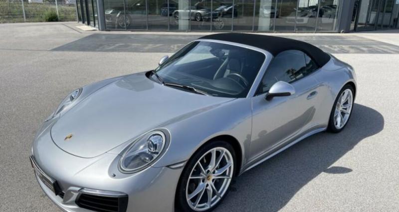 Porsche 911 CABRIOLET 3.0 370CH CARRERA 4 PDK Argent occasion à RIVESALTES - photo n°4