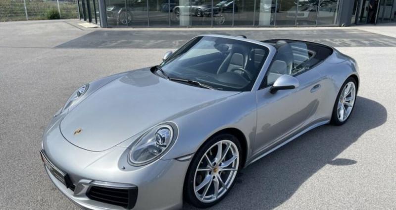 Porsche 911 CABRIOLET 3.0 370CH CARRERA 4 PDK Argent occasion à RIVESALTES - photo n°3