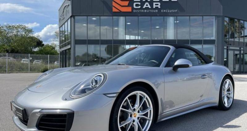 Porsche 911 CABRIOLET 3.0 370CH CARRERA 4 PDK Argent occasion à RIVESALTES - photo n°2