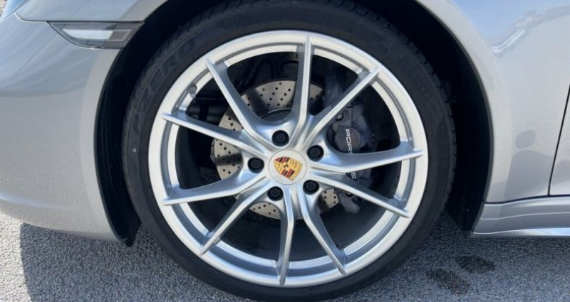Porsche 911 CABRIOLET 3.0 370CH CARRERA 4 PDK Argent occasion à RIVESALTES - photo n°7