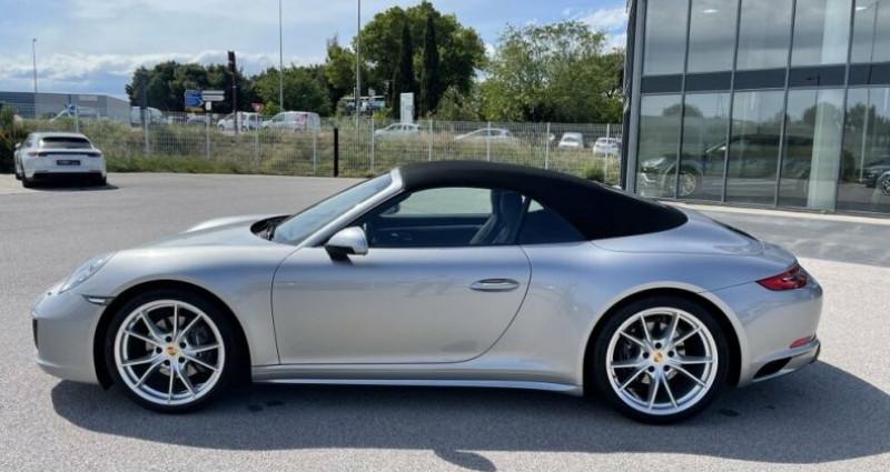 Porsche 911 CABRIOLET 3.0 370CH CARRERA 4 PDK Argent occasion à RIVESALTES - photo n°6