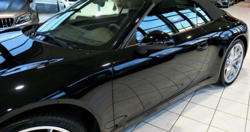 Porsche 911 CABRIOLET 3.4 350 CARRERA PDK Noir occasion à Saint Patrice - photo n°4
