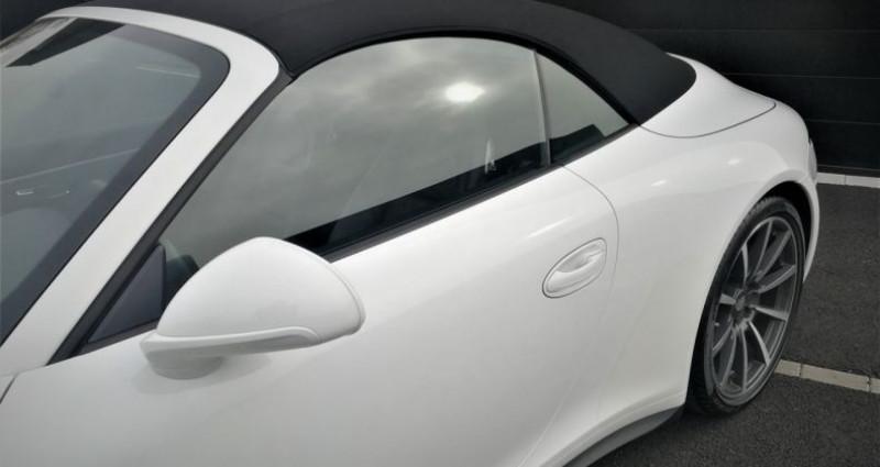 Porsche 911 Cabriolet Carrera 4S 400ch Blanc occasion à SOUFFELWEYERSHEIM - photo n°3
