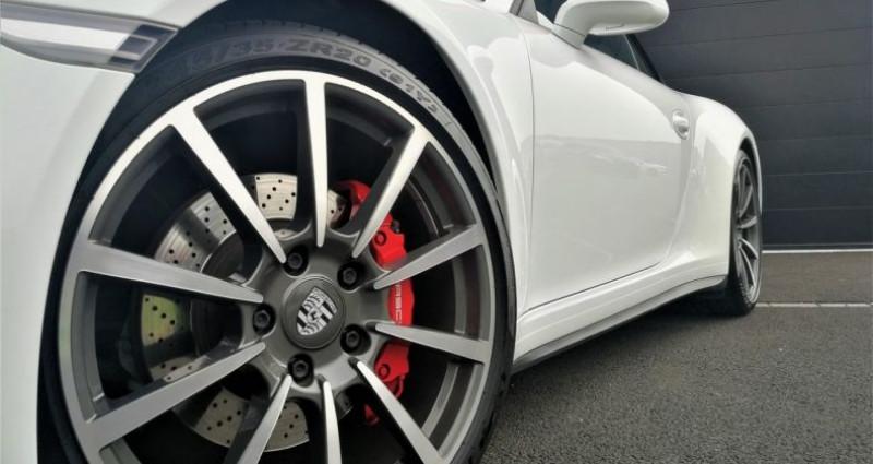 Porsche 911 Cabriolet Carrera 4S 400ch Blanc occasion à SOUFFELWEYERSHEIM - photo n°5