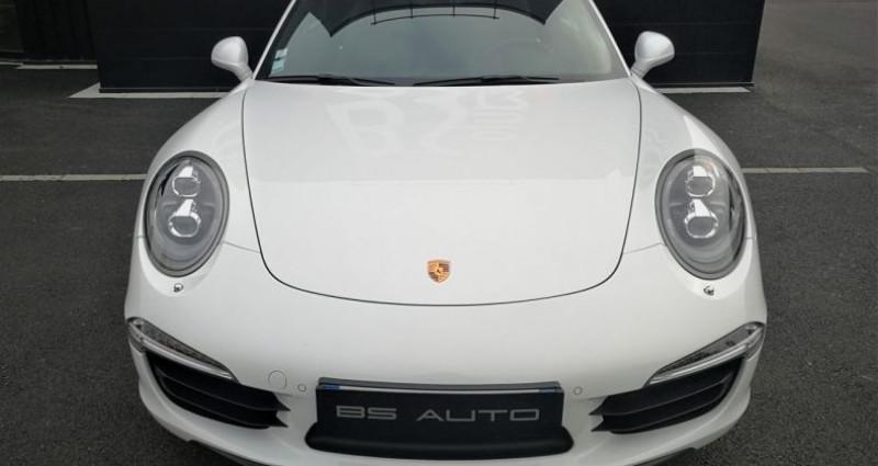 Porsche 911 Cabriolet Carrera 4S 400ch Blanc occasion à SOUFFELWEYERSHEIM - photo n°6