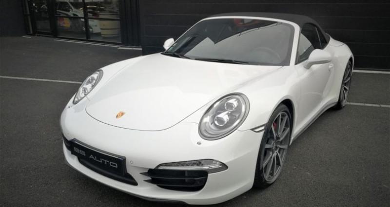 Porsche 911 Cabriolet Carrera 4S 400ch Blanc occasion à SOUFFELWEYERSHEIM