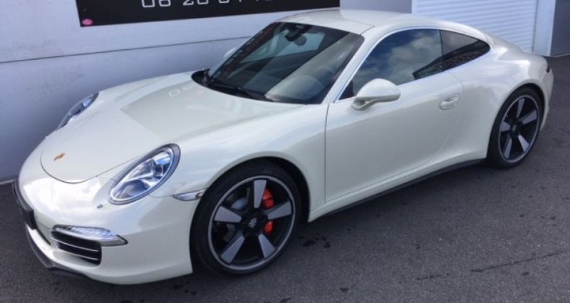 Porsche 911 Carrera S 400cv 50 ans 2014  occasion à CRAC'H - photo n°4