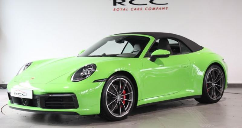 Porsche 911 Carrera S Cabriolet Vert occasion à Le Port Marly