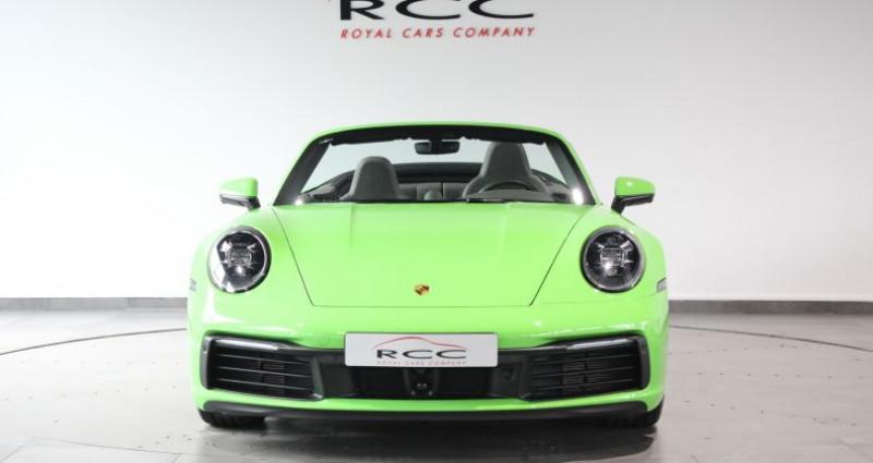 Porsche 911 Carrera S Cabriolet Vert occasion à Le Port Marly - photo n°2
