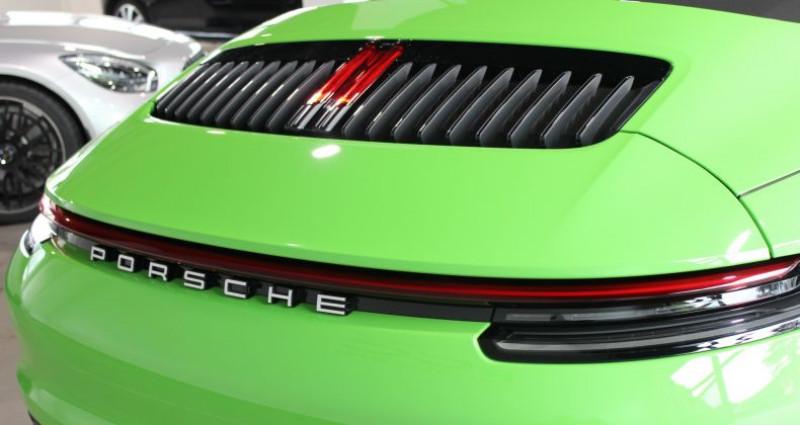 Porsche 911 Carrera S Cabriolet Vert occasion à Le Port Marly - photo n°3