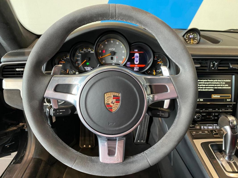 Porsche 911 GT3 3.8i PDK Noir occasion à SAINT-GREGOIRE - photo n°9
