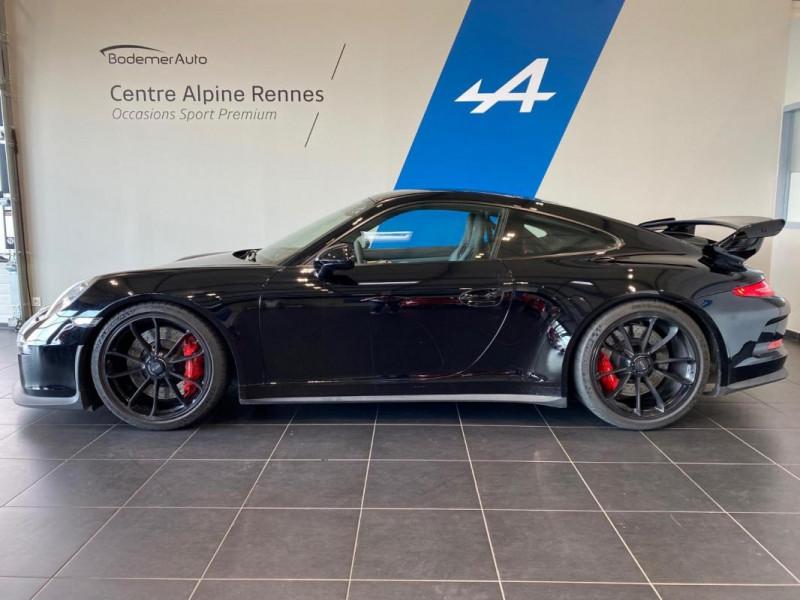 Porsche 911 GT3 3.8i PDK Noir occasion à SAINT-GREGOIRE - photo n°2