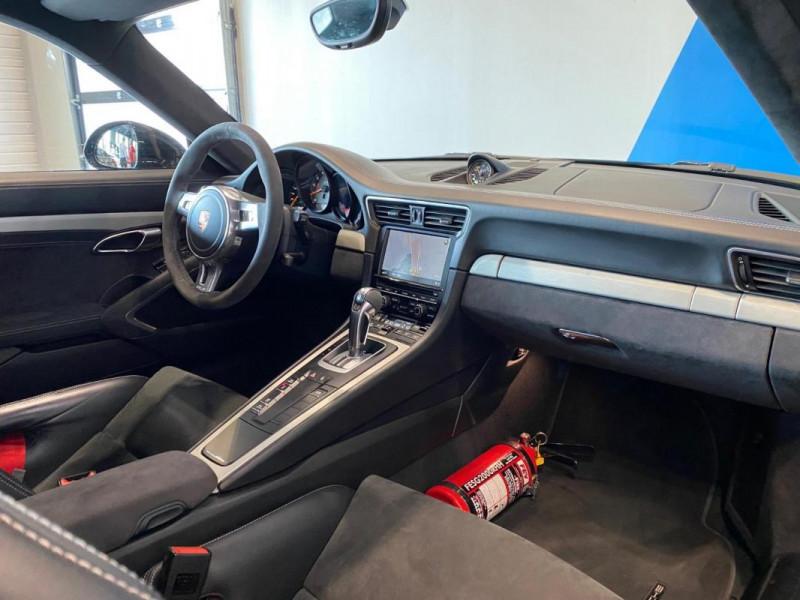 Porsche 911 GT3 3.8i PDK Noir occasion à SAINT-GREGOIRE - photo n°13