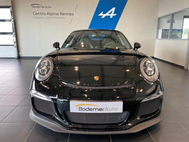 Porsche 911 GT3 3.8i PDK Noir occasion à SAINT-GREGOIRE - photo n°4