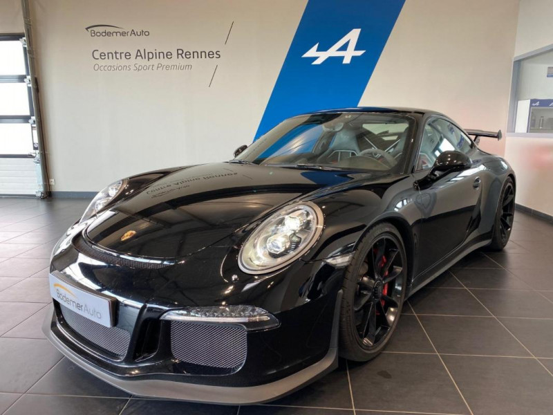 Porsche 911 GT3 3.8i PDK Noir occasion à SAINT-GREGOIRE