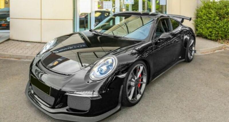 Porsche 911 GT3 -CLUBSPORTPAKKET 476 CV Noir occasion à Boulogne-Billancourt