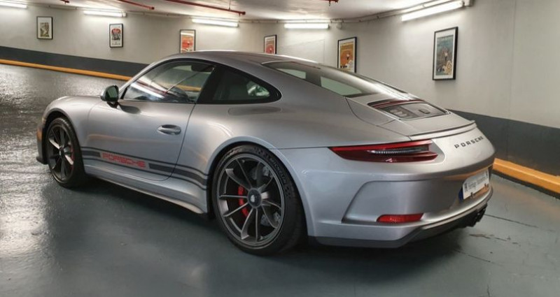 Porsche 911 GT3 Touring 4.0 500ch BVM6 Argent occasion à Neuilly-sur-Seine - photo n°6