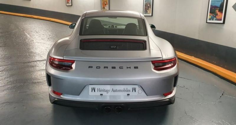 Porsche 911 GT3 Touring 4.0 500ch BVM6 Argent occasion à Neuilly-sur-Seine - photo n°4